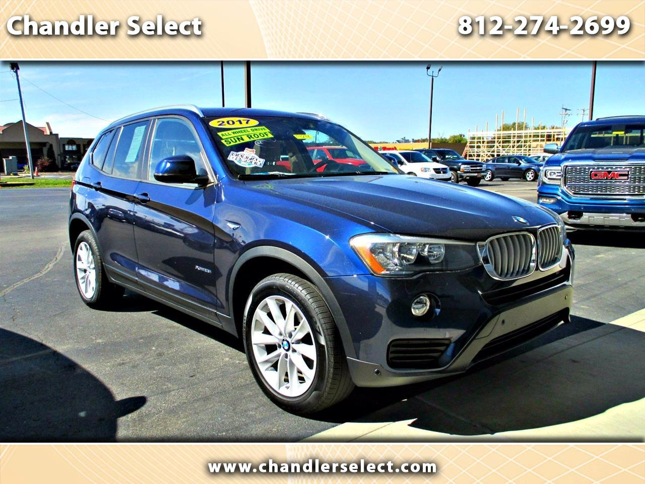 BMW X3 xDrive28i Sports Activity Vehicle 2017