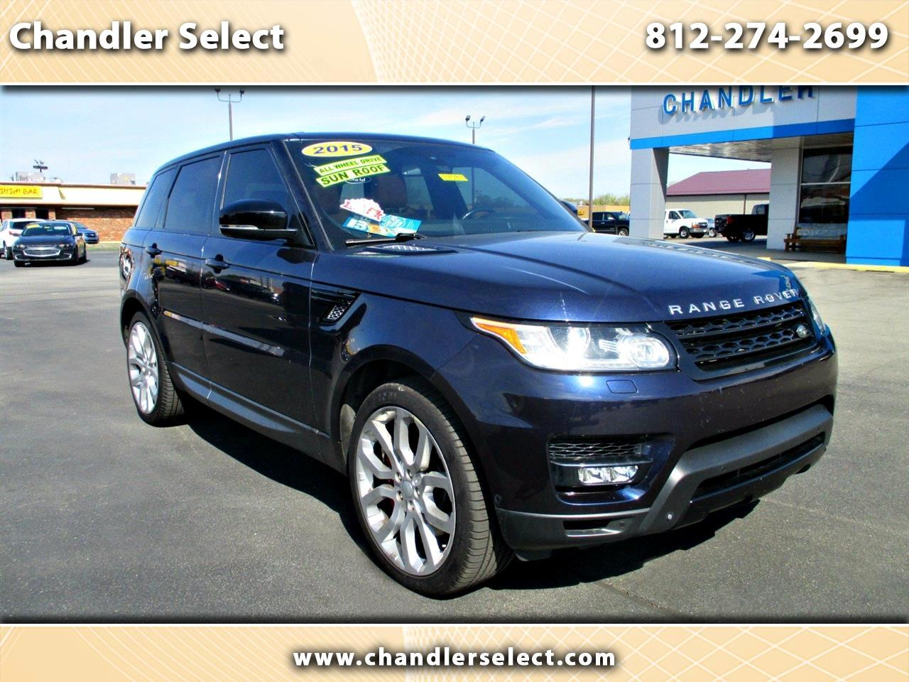 Land Rover Range Rover Sport 4WD 4dr Supercharged 2015