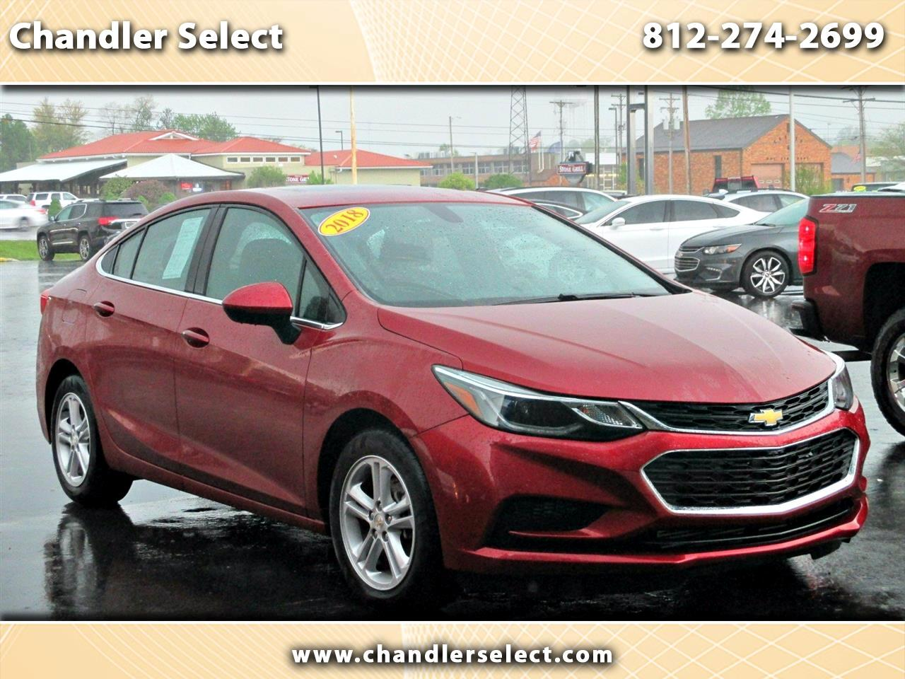 Chevrolet Cruze 4dr Sdn 1.4L LT w/1SD 2018