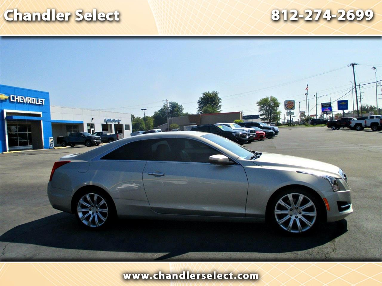 Cadillac ATS Coupe 2dr Cpe 2.0L Standard RWD 2015