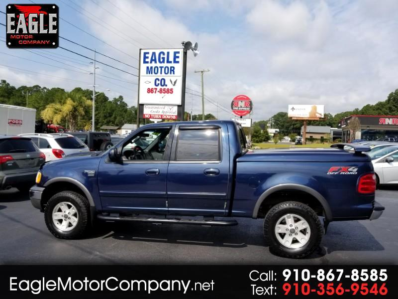 """2002 Ford F-150 4WD SuperCrew 145"""" FX4"""