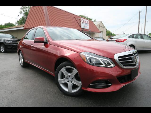 2015 Mercedes-Benz E-Class 4dr Sdn E350 Luxury 4MATIC