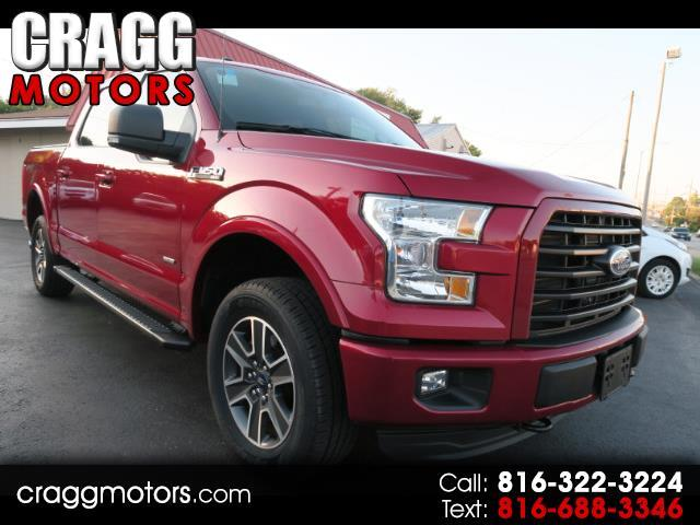 2016 Ford F-150 XLT Sport 4WD SuperCrew EcoBoost