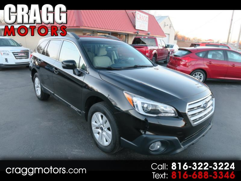 2015 Subaru Outback 2.5i Premium With Eyesight Technology