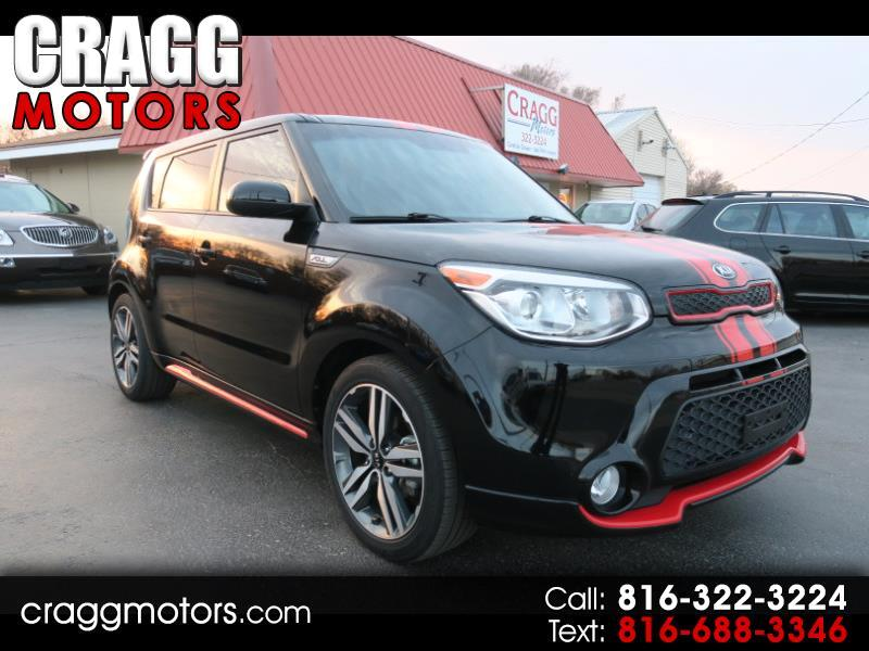 2015 Kia Soul + Red Zone Package & Panoramic Sunroof & Navigatio