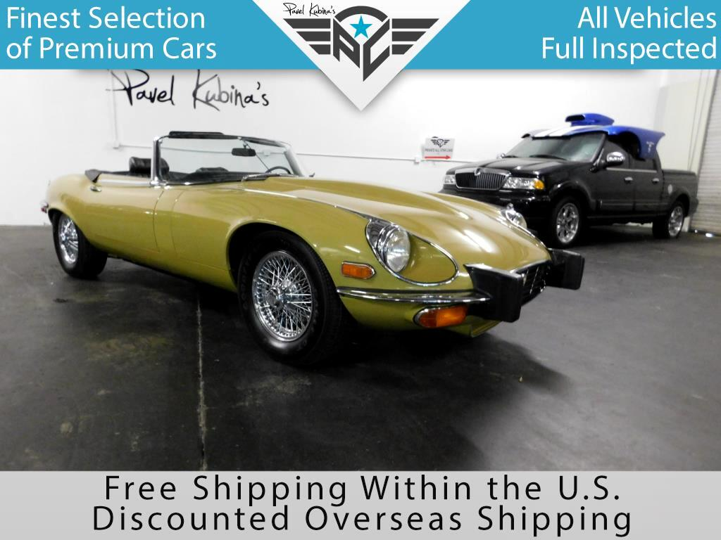 1974 Jaguar E-Type XK-E Roadster