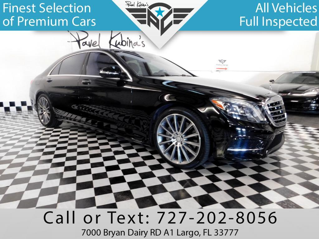 2016 Mercedes-Benz S-Class 4dr Sdn S550 RWD