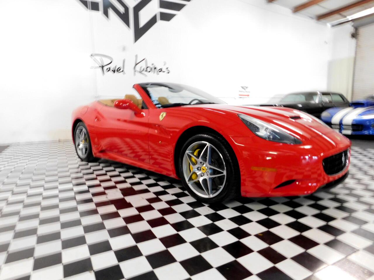 2012 Ferrari California 2dr Conv