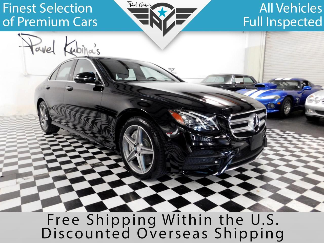 2017 Mercedes-Benz E-Class E 300 Sport 4MATIC Sedan