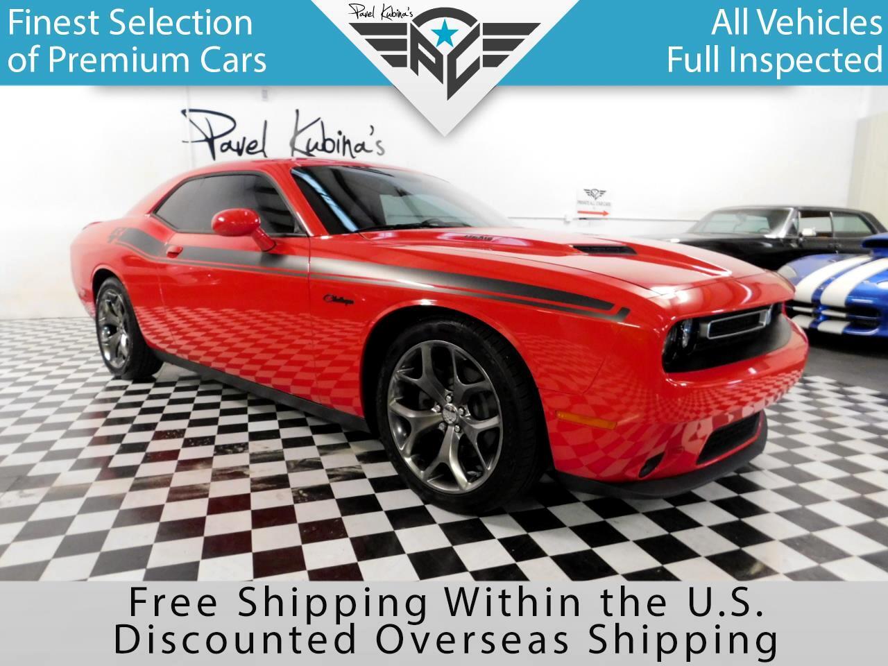 2015 Dodge Challenger 2dr Cpe R/T Plus