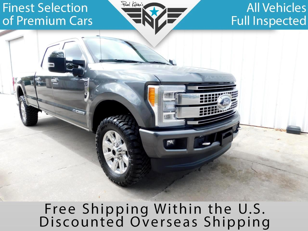 2017 Ford Super Duty F-250 SRW Platinum 4WD Crew Cab 8' Box