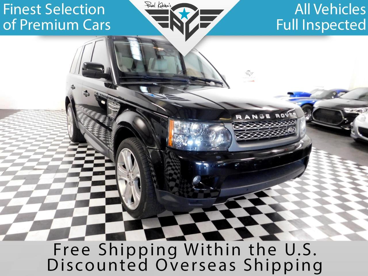 2010 Land Rover Range Rover Sport 4WD 4dr SC