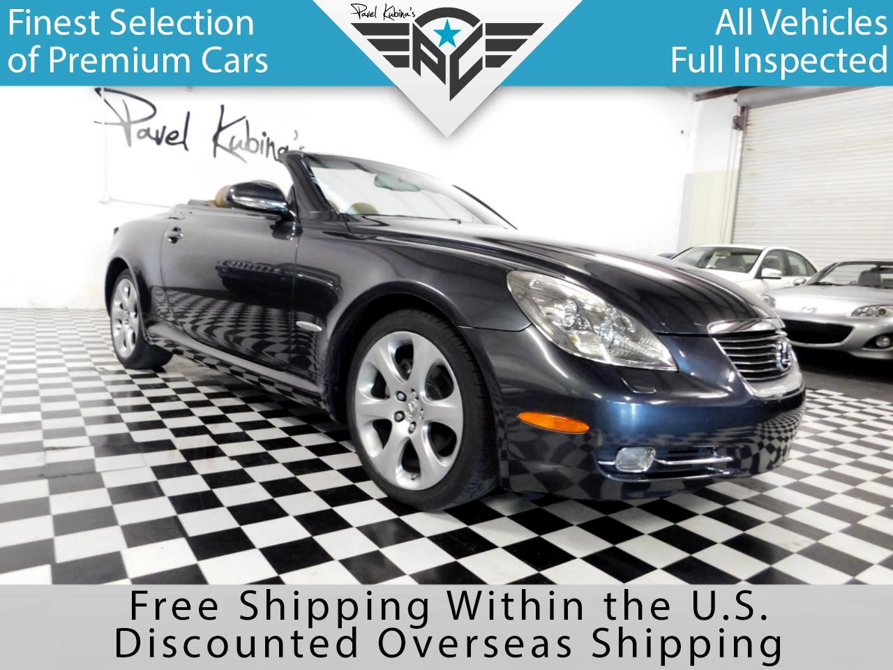 2008 Lexus SC 430 2dr Converible Pebble Beach Edition