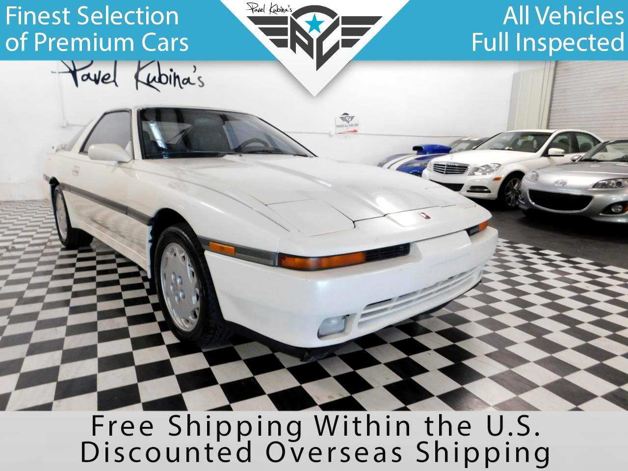 1989 Toyota Supra 3dr Liftback 5-Spd Turbo Sport Roof