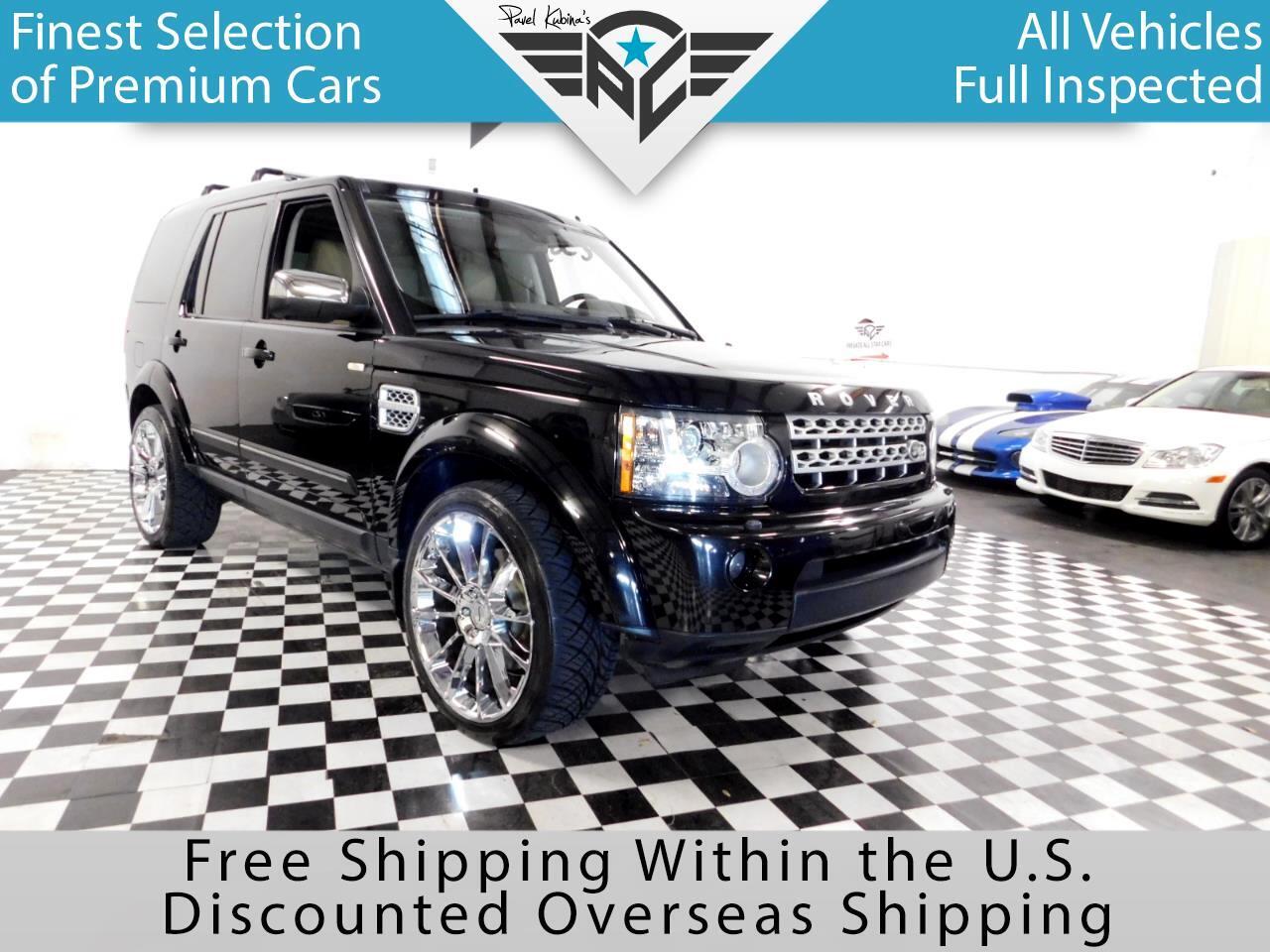 2011 Land Rover LR4 4WD 4dr V8 HSE