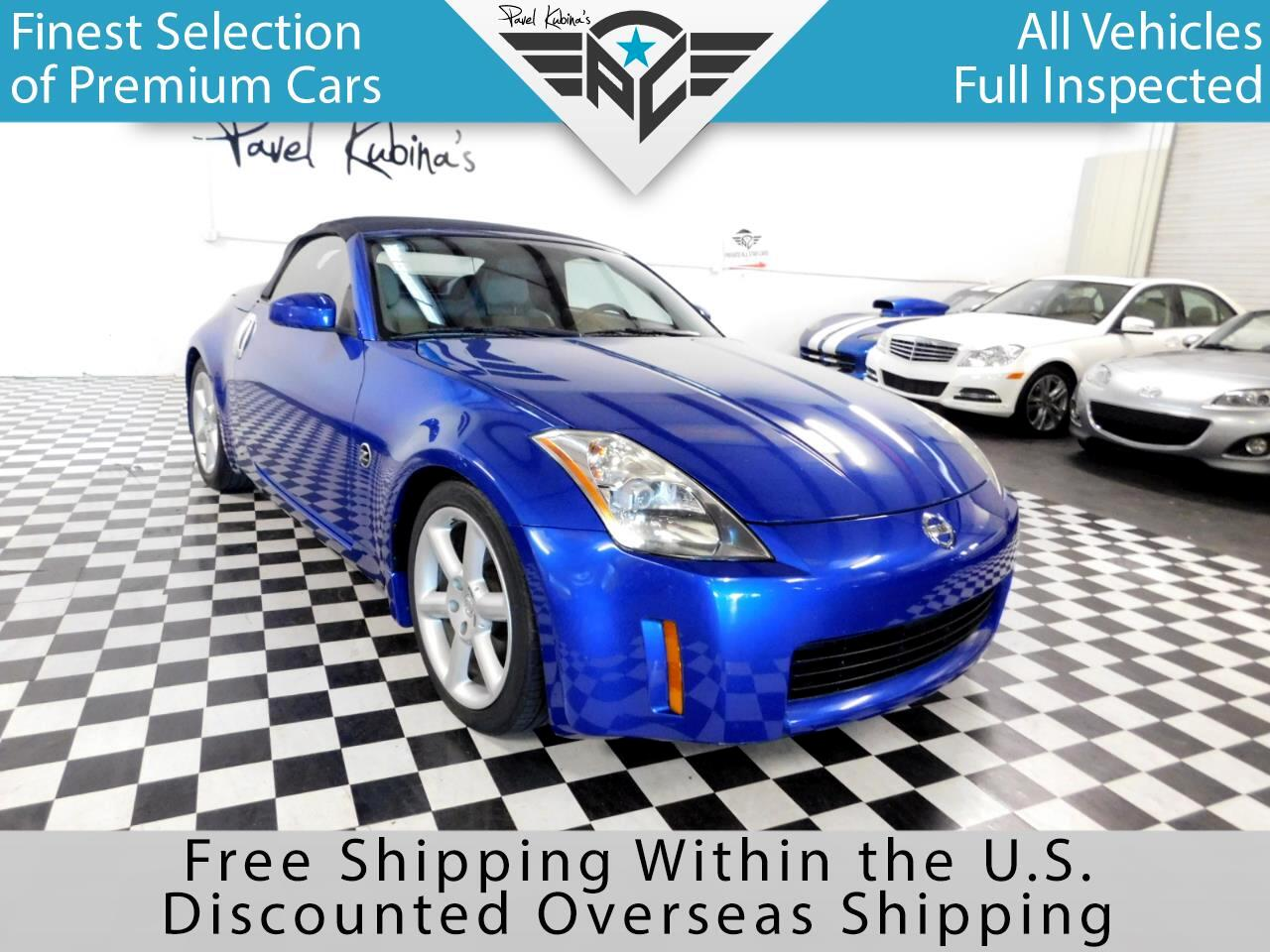2004 Nissan 350Z 2dr Roadster Touring Auto