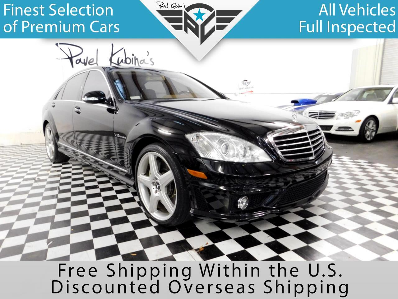 2007 Mercedes-Benz S-Class 4dr Sdn S 65 AMG RWD