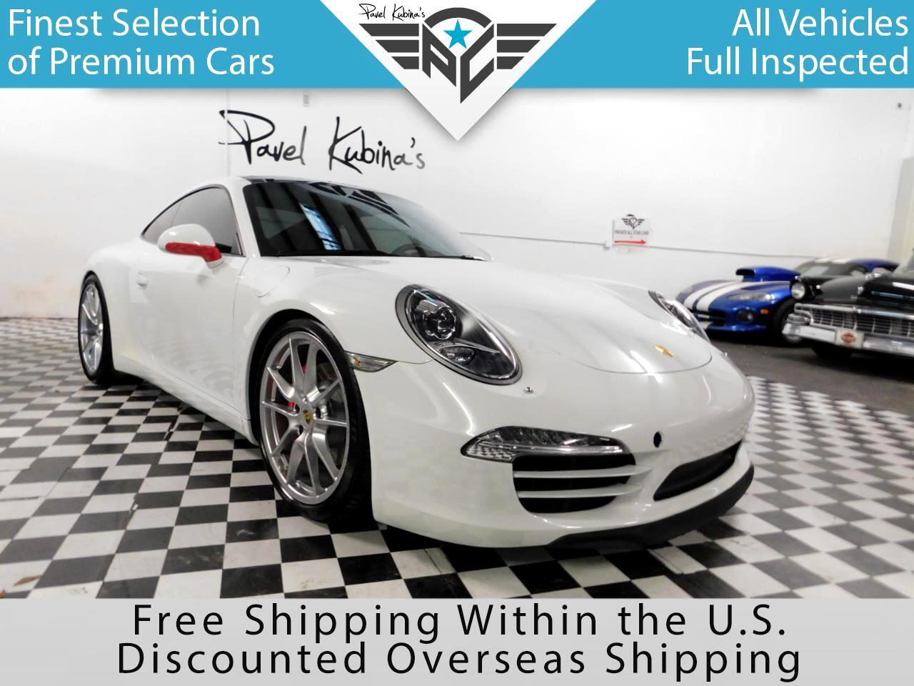 2013 Porsche 911 2dr Cpe Carrera S