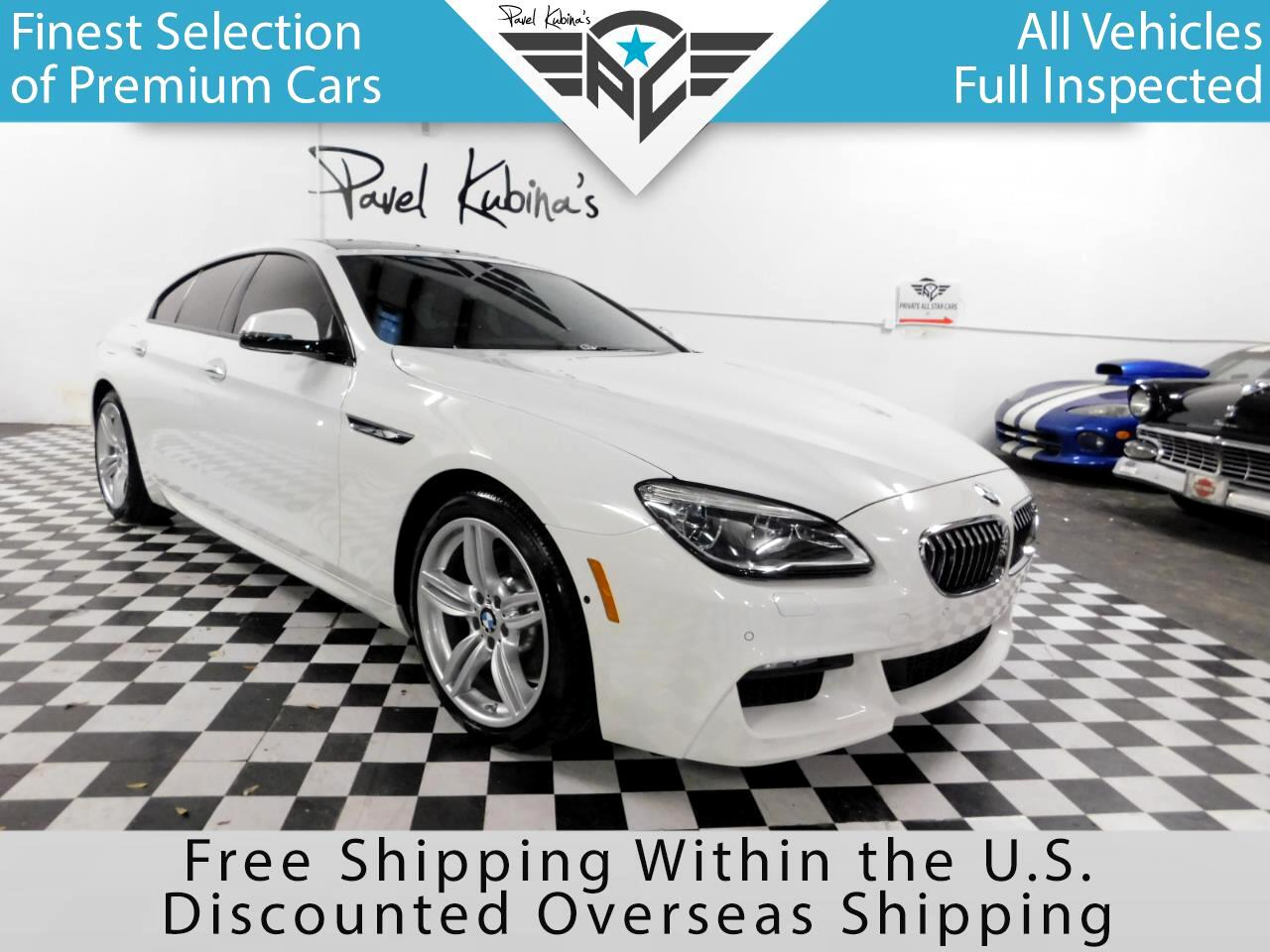 2017 BMW 6 Series 640I Gran Coupe M Package