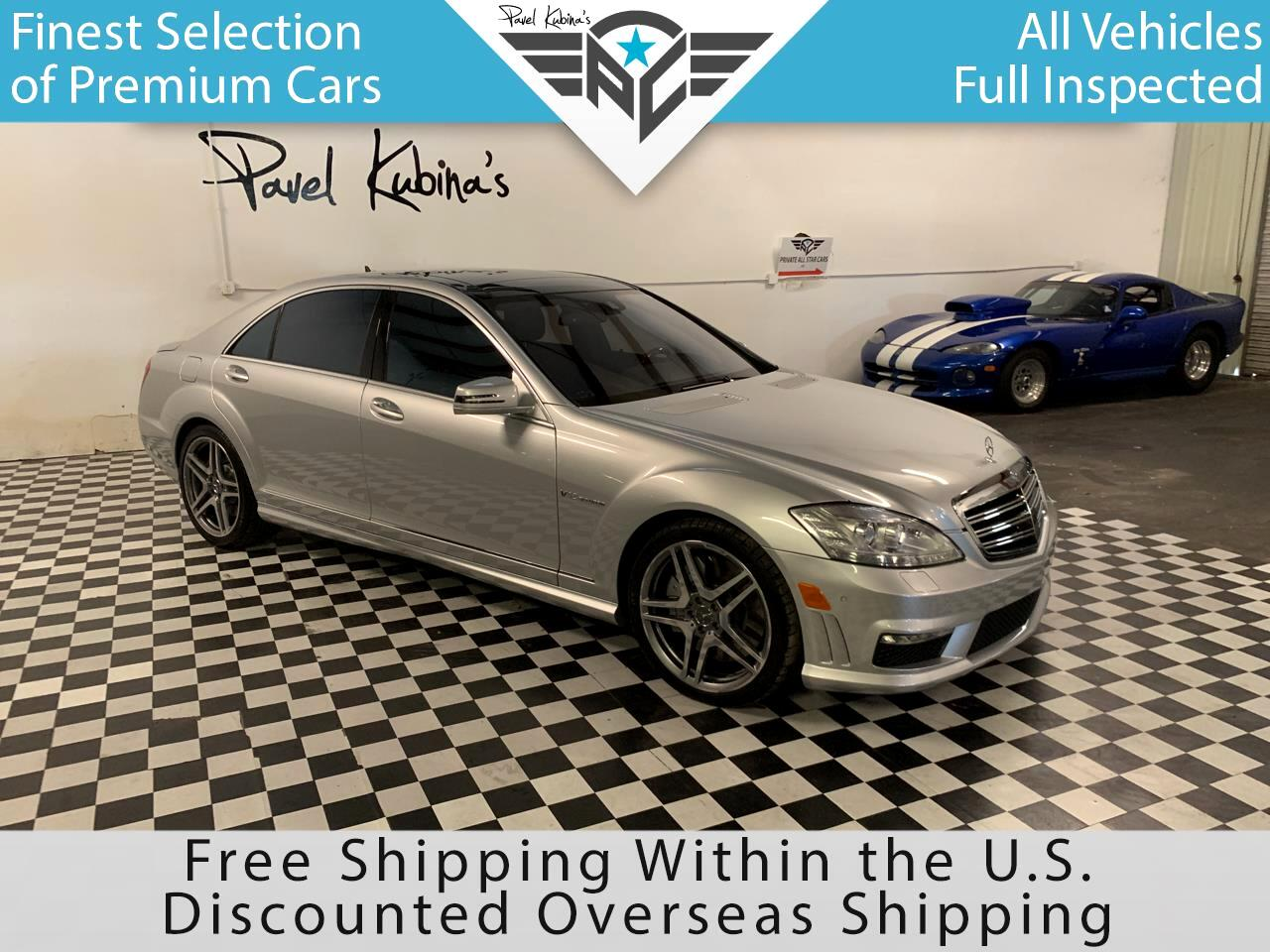 Mercedes-Benz S-Class 4dr Sdn S 65 AMG RWD 2011
