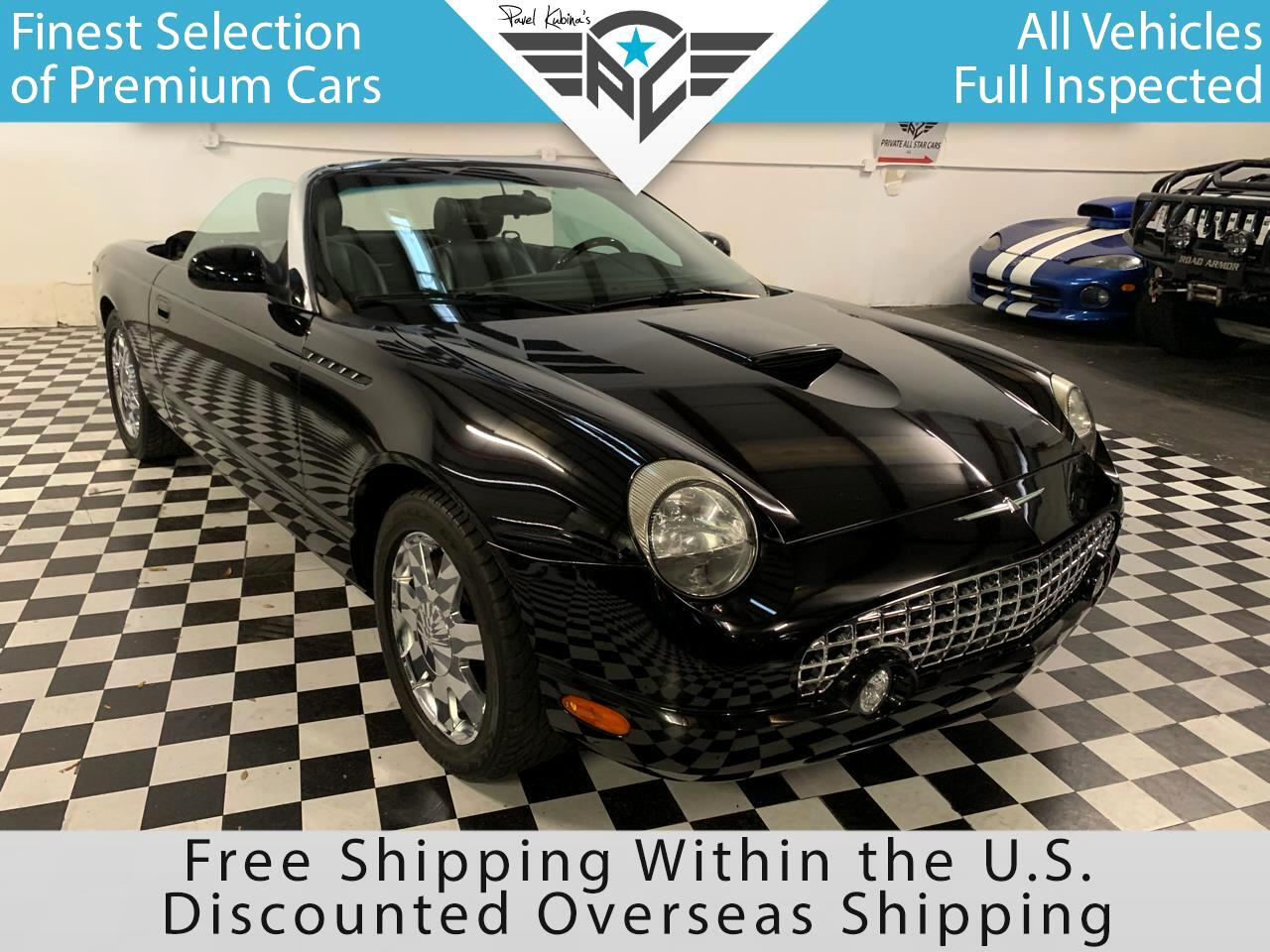Ford Thunderbird 2dr Convertible Deluxe 2002