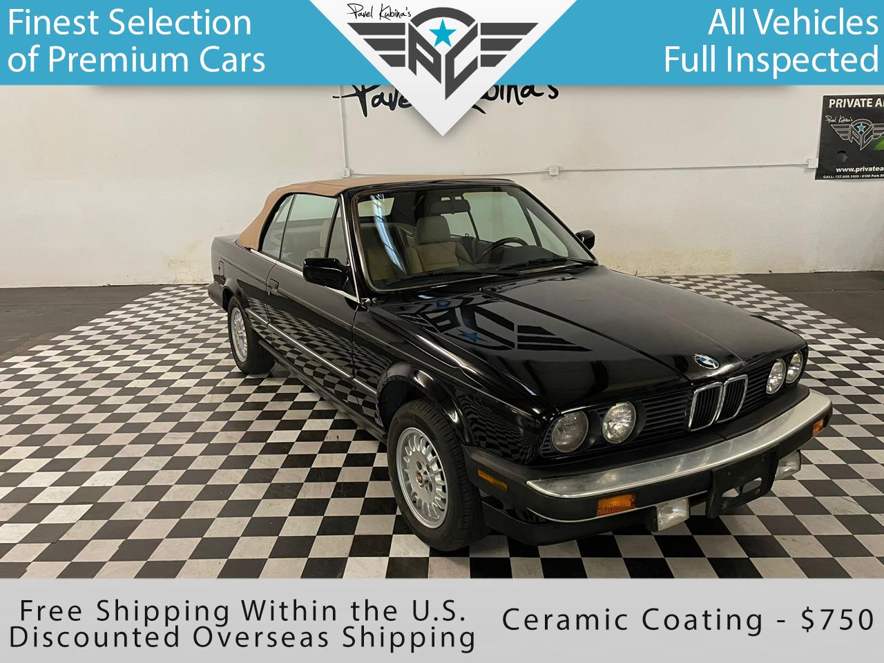 BMW 3 Series 2dr Convertible 325iC 1987