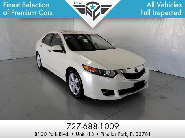 Acura TSX 5-Speed AT with Tech Package 2010