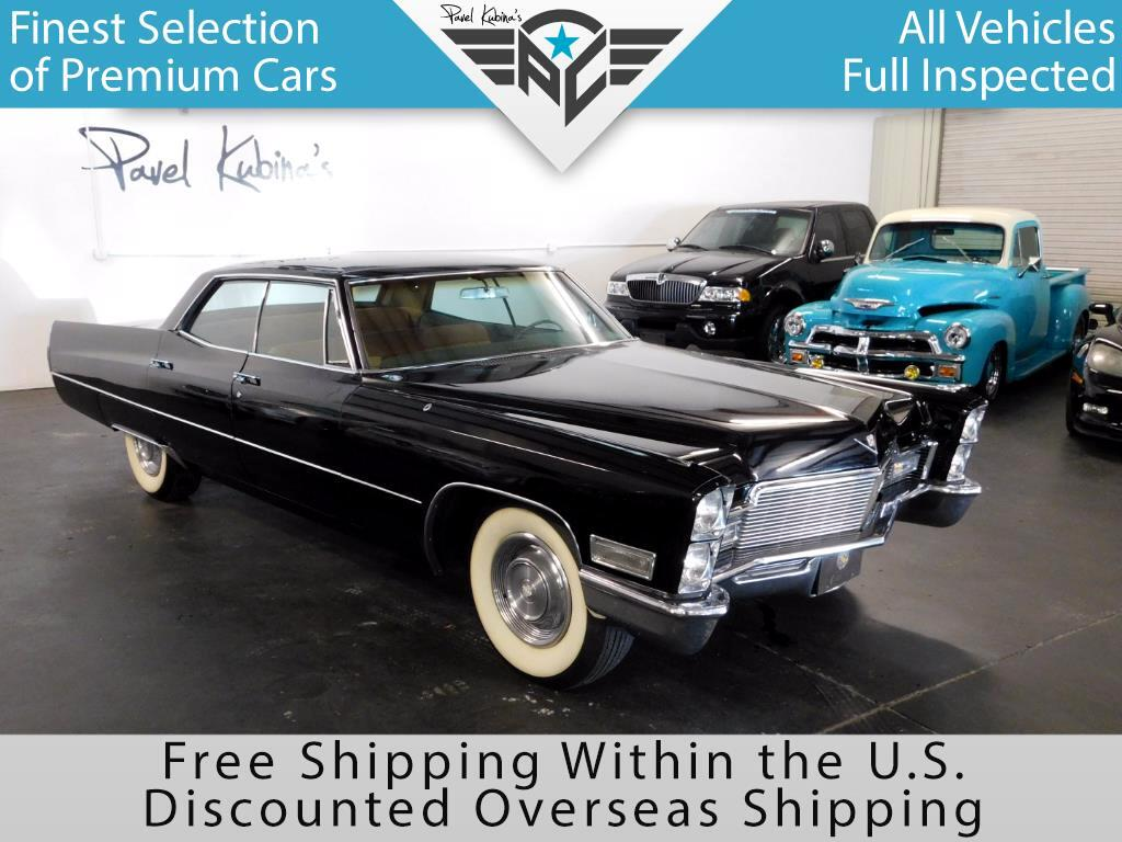 1968 Cadillac Calais 4 Door Sedan