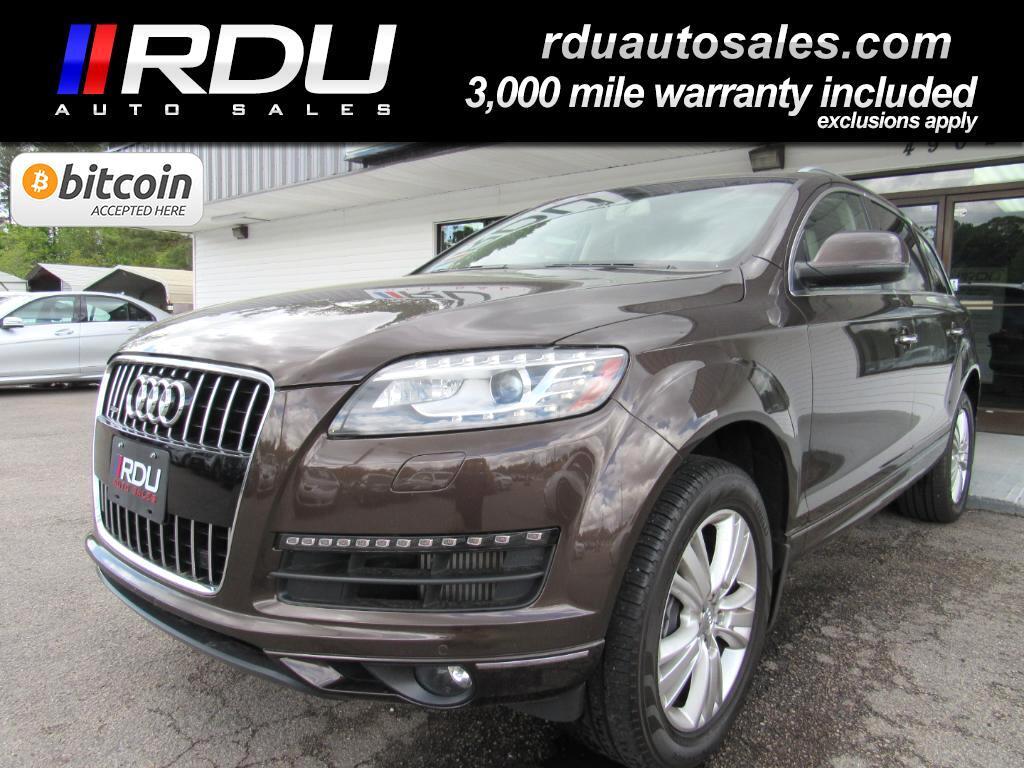 2013 Audi Q7 TDI Premium Plus quattro
