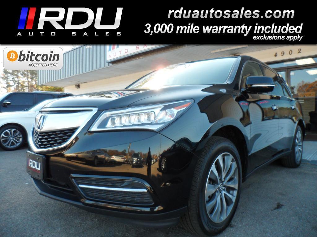 2015 Acura MDX SH-AWD Tech Pkg