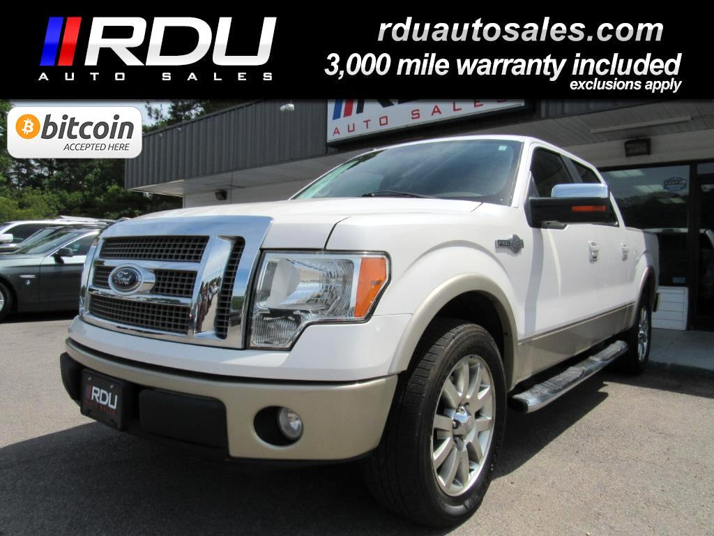 "2010 Ford F-150 SuperCrew 145"" King Ranch"