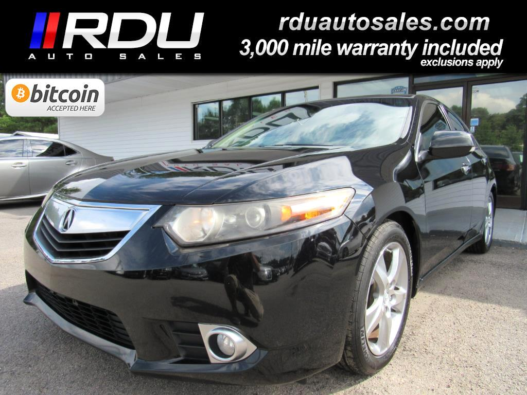 2012 Acura TSX Tech Package