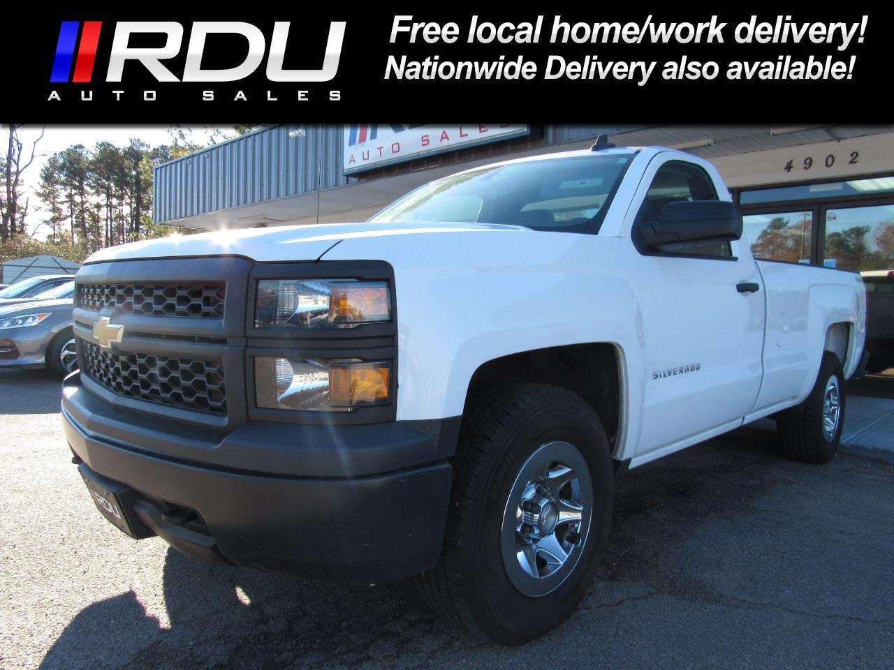 2015 Chevrolet Silverado 1500 LS Reg. Cab Long Bed 4WD