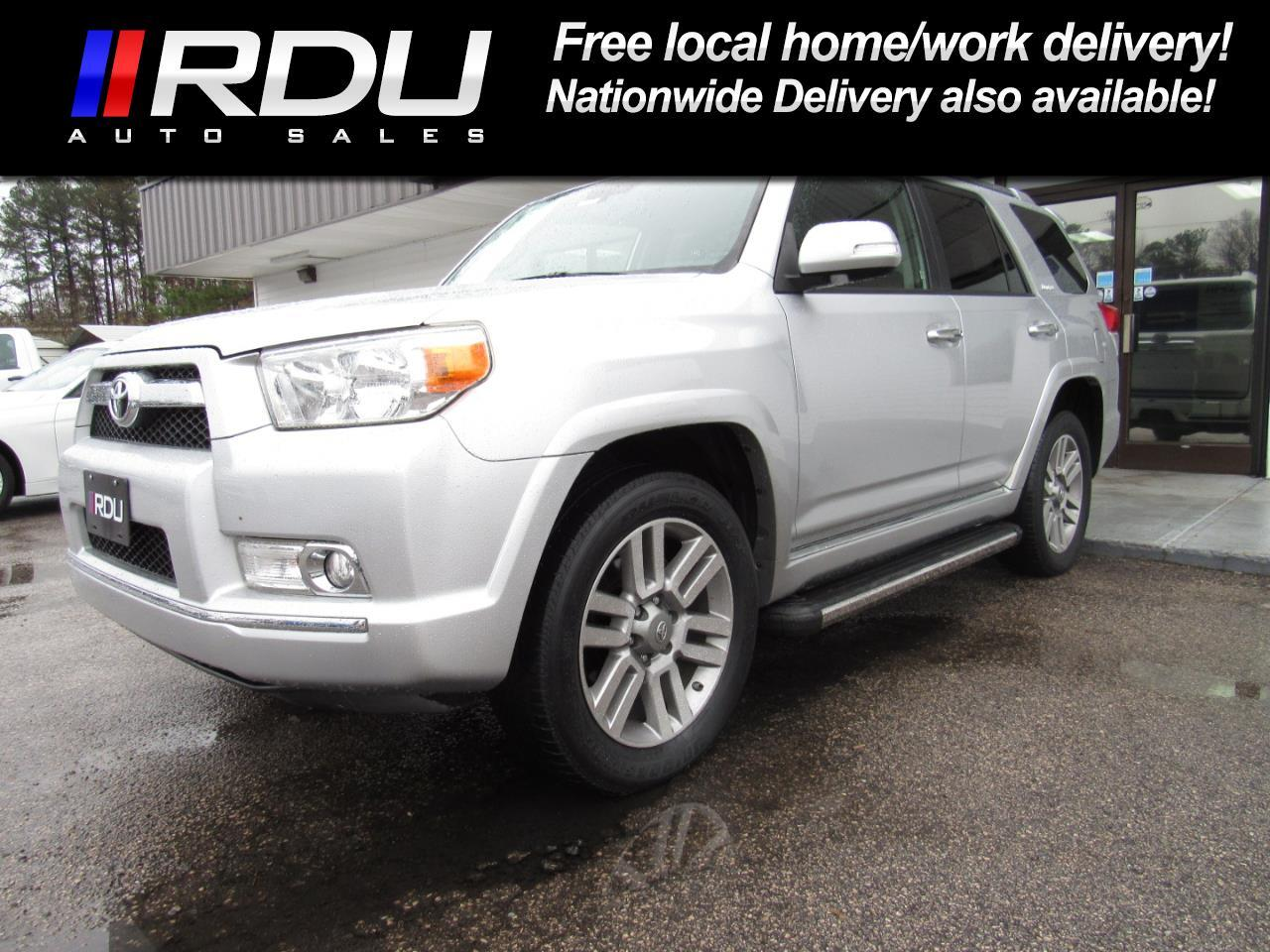 2012 Toyota 4Runner Limited 4WD