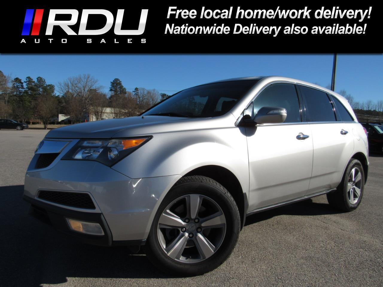 2011 Acura MDX AWD 4dr Technology Pkg