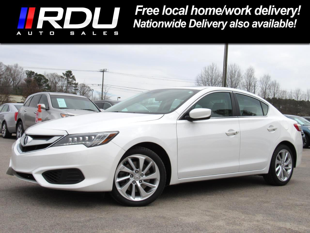 2016 Acura ILX Sedan w/Technology Plus Pkg
