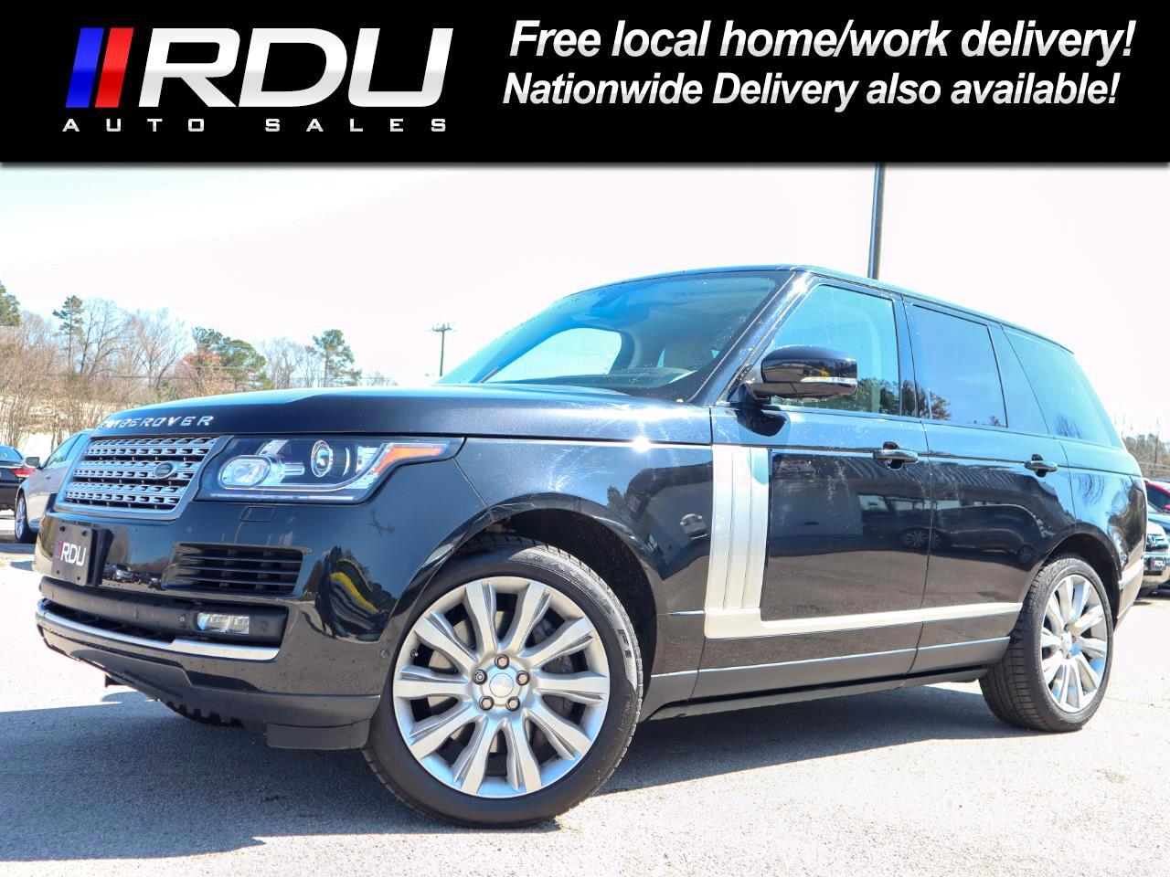 2015 Land Rover Range Rover Supercharged HSE