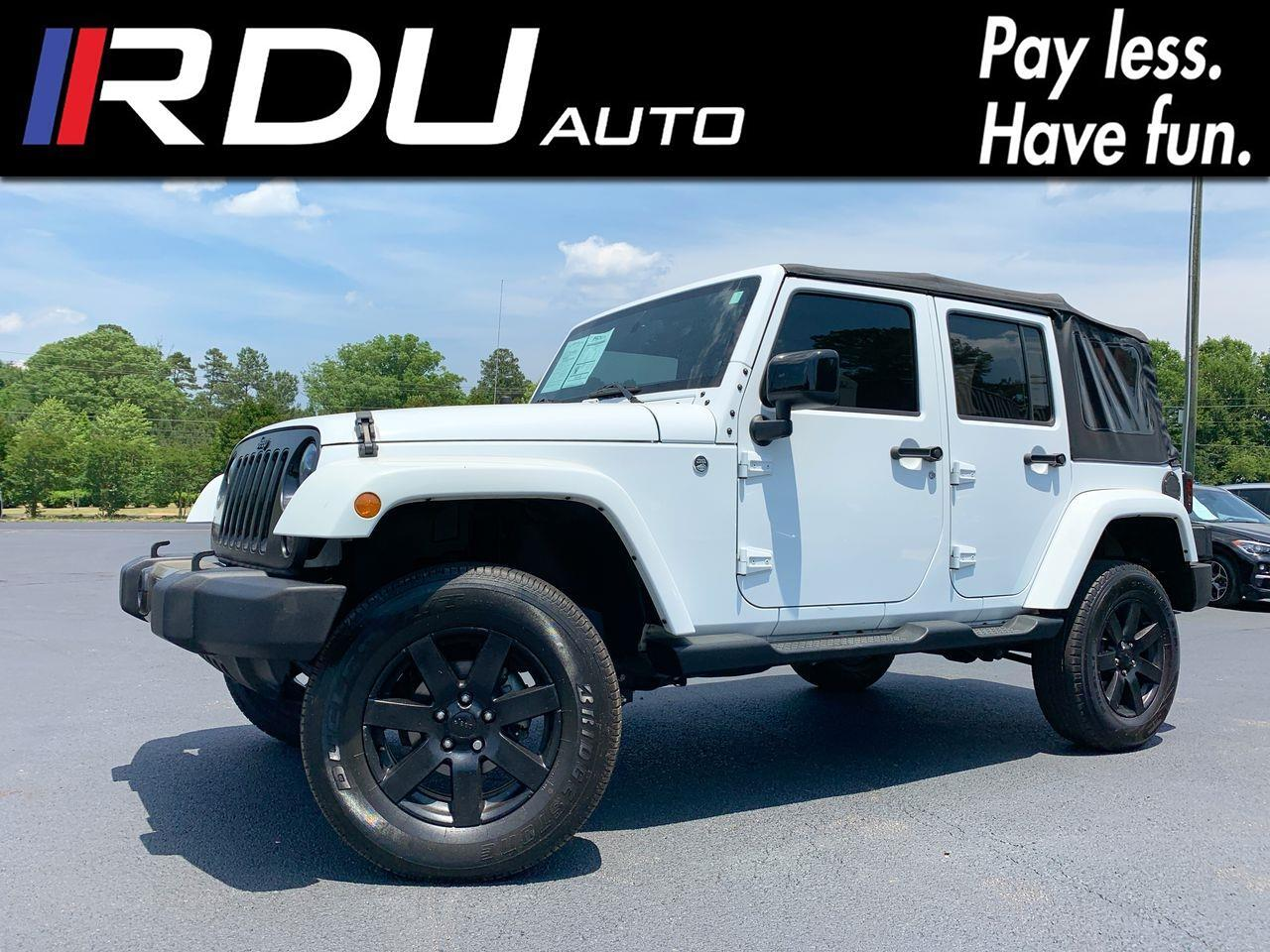 2014 Jeep Wrangler Unlimited Sahara Altitude 4WD