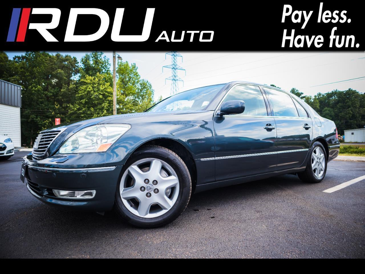2005 Lexus LS 430 Sedan Ultra Luxury