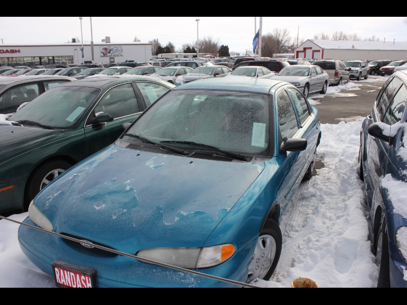 1996 ford contour green
