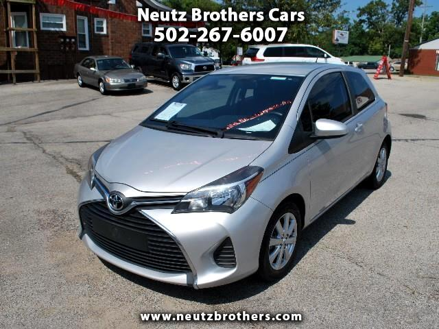 2015 Toyota Yaris L 3-Door AT