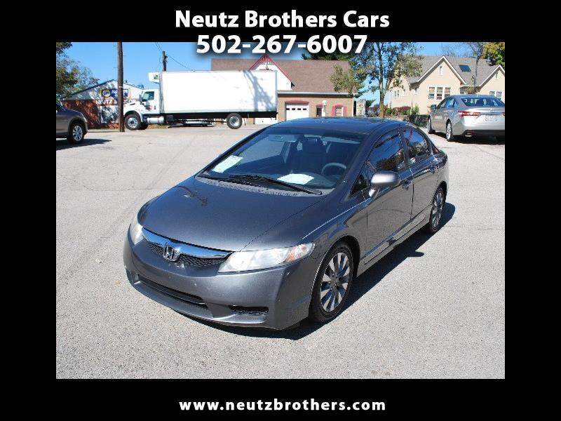 2010 Honda Civic EX sedan