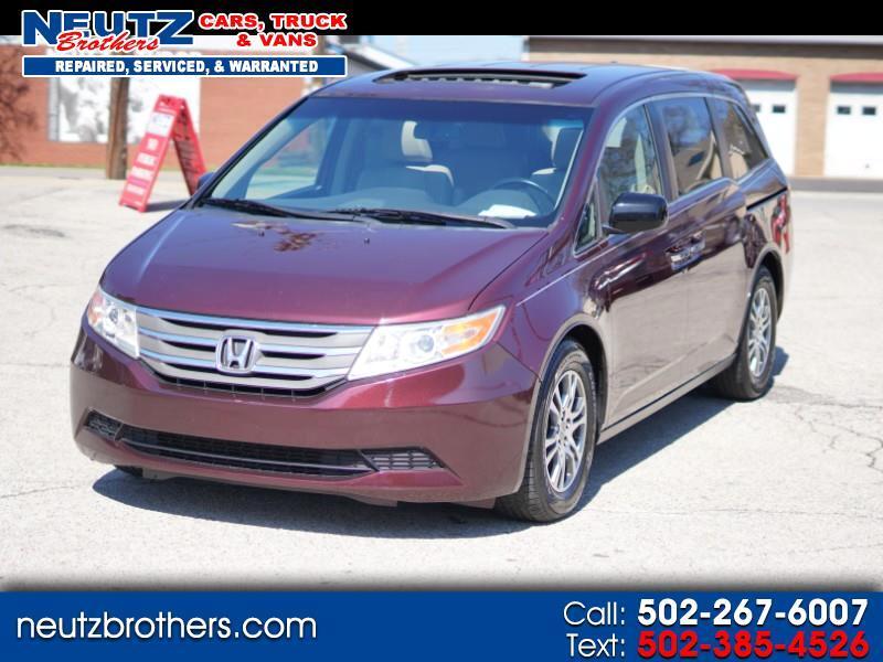 2013 Honda Odyssey EX-L 8 passenger