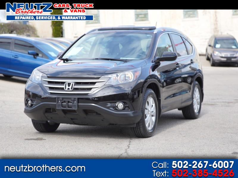 2014 Honda CR-V 4WD EW-L With DVD