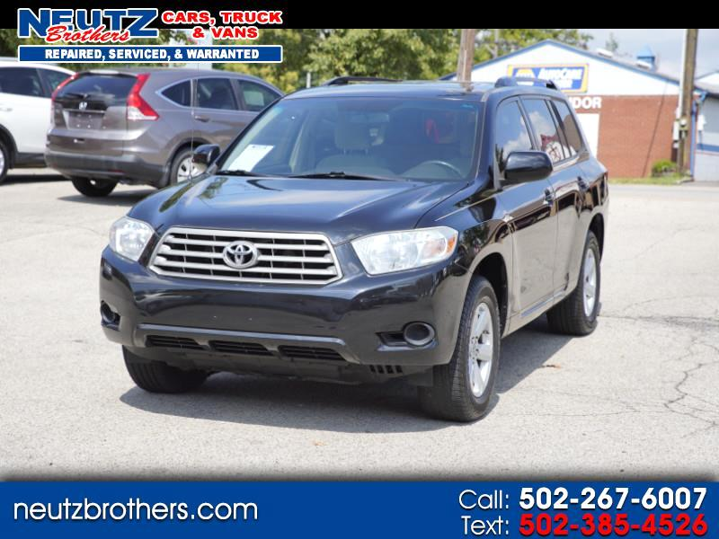2010 Toyota Highlander V6 2WD with 3rd-Row Seat