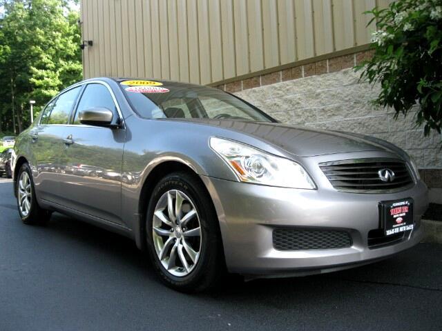 2009 Infiniti G Sedan G37x AWD