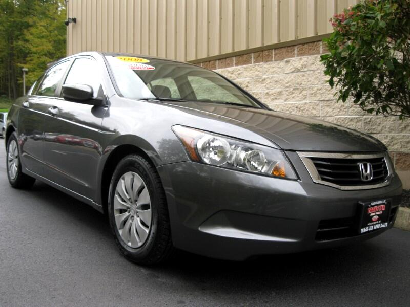2008 Honda Accord LX sedan AT