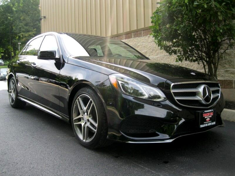 2016 Mercedes-Benz E-Class E400 Luxury 4MATIC Sedan