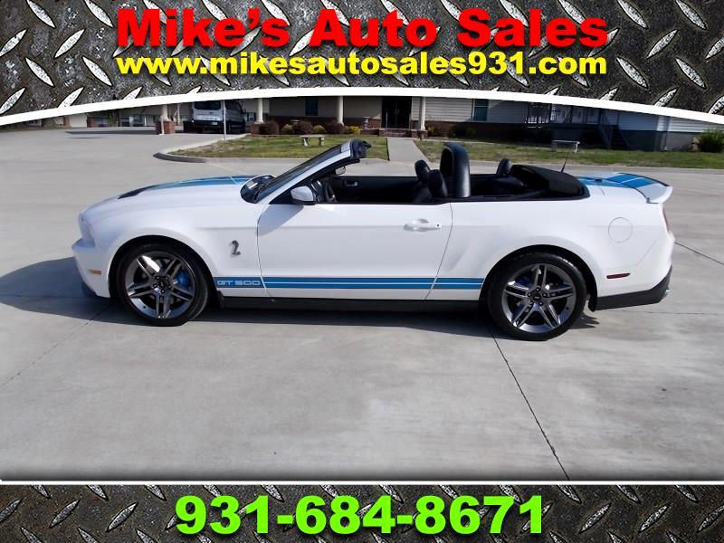 2012 Ford Mustang 2dr Conv Shelby GT500