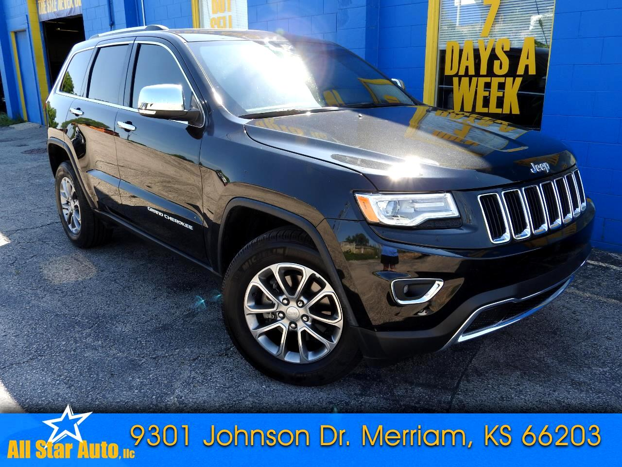 2016 Jeep Grand Cherokee Limited 4WD w/Technology Pkg